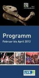 Programm - LVR-LandesMuseum Bonn