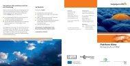 Plattform Klima Klimaschutz in NRW - Nordrhein-Westfalen direkt