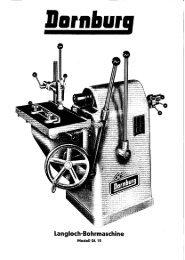 Langloch-Bohrmaschine - Surplex