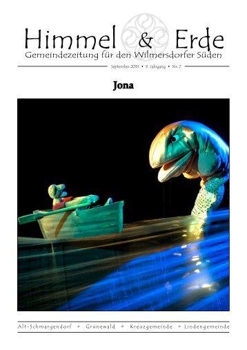H&E Ausgabe September 2013 - Evangelische Kirchengemeinde ...