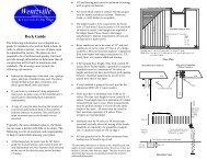 Deck Guide - The City of Wentzville | Missouri