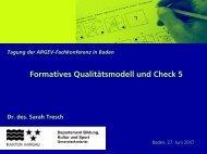 Referat von Dr. des. Sarah Tresch - argev