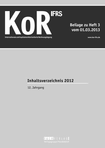 2012 - KoR
