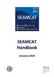 SEAMCAT Handbook (pdf) - Cept