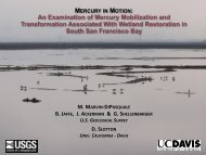 An Examination of Mercury Mobilization and Transformation ...
