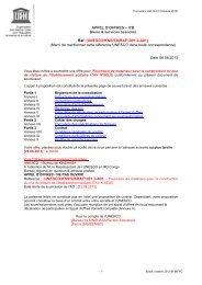 Appel d'offres - ITB Bien & services associés - mediacongo.net