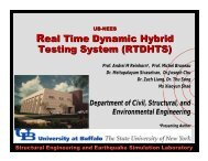 Real Time Dynamic Hybrid Testing System (RTDHTS) - nees@Buffalo