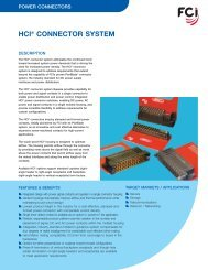 hci® connector system