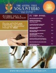 Oct. 2009 - The Giving Tree Yoga Studio