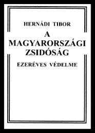 A magyarországi zsidóság ezeréves védelme (pdf)