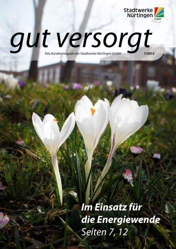 Info - Stadtwerke Nürtingen