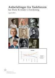 anbefalinger-fra-taskforcen-for-flere-kvinder-i-forskning