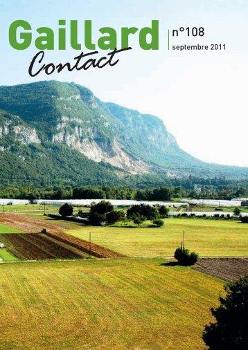GAILLARD couv108.indd - Ville de Gaillard