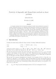 Positivity of diagonally split Runge-Kutta methods on linear problems