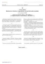 83/2008 - Ministerstvo dopravy, výstavby a regionálneho rozvoja SR