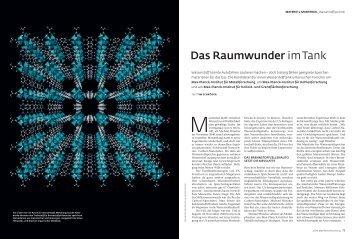 Das Raumwunder im Tank (pdf) - Max-Planck-Institut für Intelligente ...