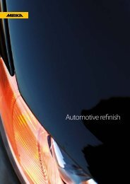Automotive refinish - Mirka