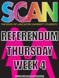 Lancaster University - Scan - Lusu
