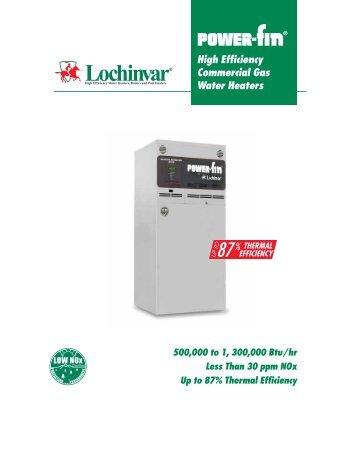 high efficiency commercial gas water heaters lochinvar - Lochinvar Water Heater