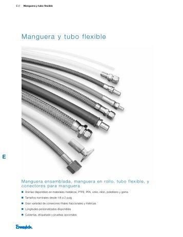 Manguera y Tubo Flexible, Manguera Ensamblada ... - Swagelok