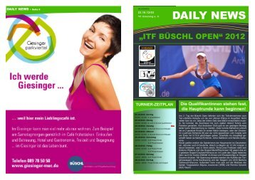 DAILY NEWS - ITF-Ismaning