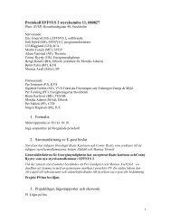 Protokoll EFFSYS 2 styrelsemöte 11, 080827 1. Formalia 2 ...