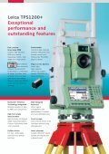 Leica TPS1200+ Series High performance Total Station - Page 4