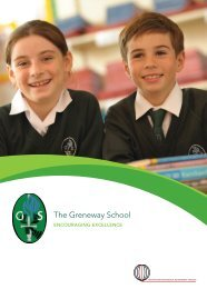 School Prospectus - The Greneway Middle School