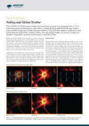 Technical Note Rolling and Global Shutter