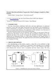 Dynamic Data Reconciliation of regenerative Heat Exchangers ...