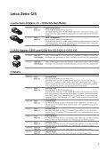 Leica Zeno GIS Ausrüstungsliste - Page 3