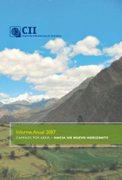 Informe Anual 2007 - Inter-American Investment Corporation