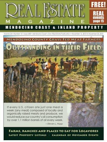 mendocino - Real Estate Magazine