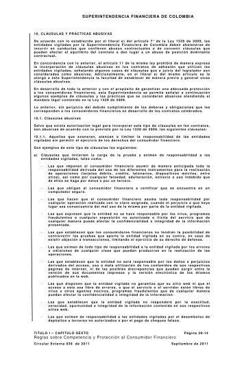 SUPERINTENDENCIA FINANCIERA DE COLOMBIA ... - ACE Group