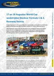 17 en 18 Augustus World Cup wedstrijden ... - Raceway Venray