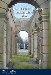 Download Threatened Historic Buildings in Hampshire 2005 (Adobe ...