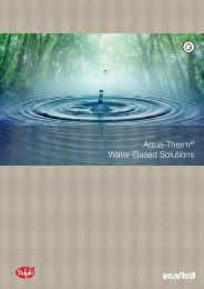 Aqua-Therm® Water-Based Solutions - Von Roll
