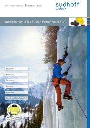 Arbeitsschutz: Alles für den Winter 2012/2013 - sudhoff technik GmbH