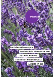 Mitenand September-November 12 komplett - Chrischona ...