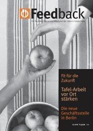 Feedback - Bundesverband Deutsche Tafel e.V.