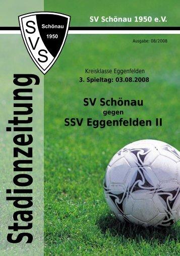 Stadionzeitung - SV Schönau