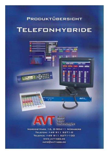 AVT ISDN Multipoint Telefonhybrid