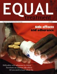 Issue 28 English - Treatment Action Campaign