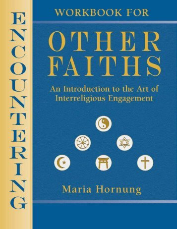 workbook - Interfaith Center of Greater Philadelphia