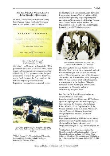 Eduard Zanders Skizzenbuch - bei TABOR SOCIETY Heidelberg eV