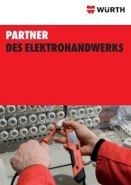 PARTNER DES ELEKTROHANDWERKS - Würth