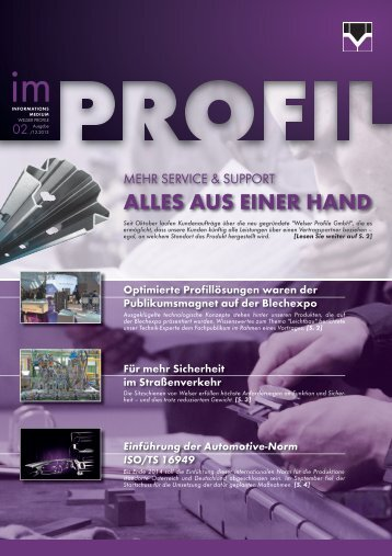 Informationsmedium - Welser Profile Austria GmbH