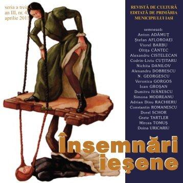 seria a treia, an III, nr. 4, aprilie 2011 - Insemnari Iesene