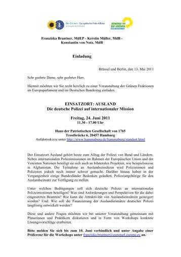 einladung konferenz mit p. gammons - christen-im-beruf, Einladungen