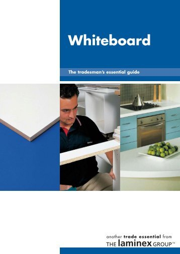 Whiteboard - Trade Essentials - The Laminex Group